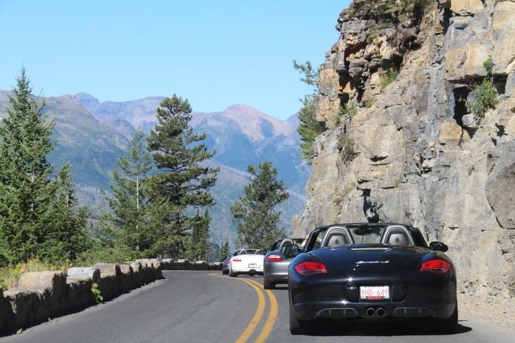 Porsche Mountain Drive